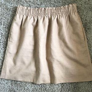 J. Crew Elastic Wool Skirt